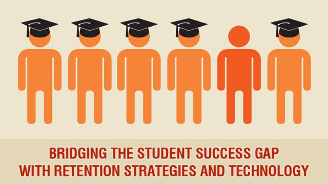 Bridging the student success gap with retention strategies and technology