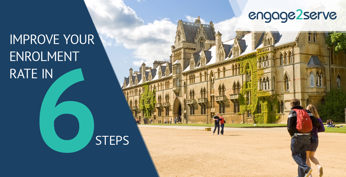 6 simple steps to increase Student Enrolment Rate in Higher Education